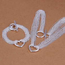 Sterling, Jewelry Set, Fashion, 925 sterling silver