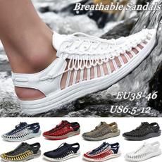 beach shoes, Plus Size, menslippersfashion, fashionbreathableshoe