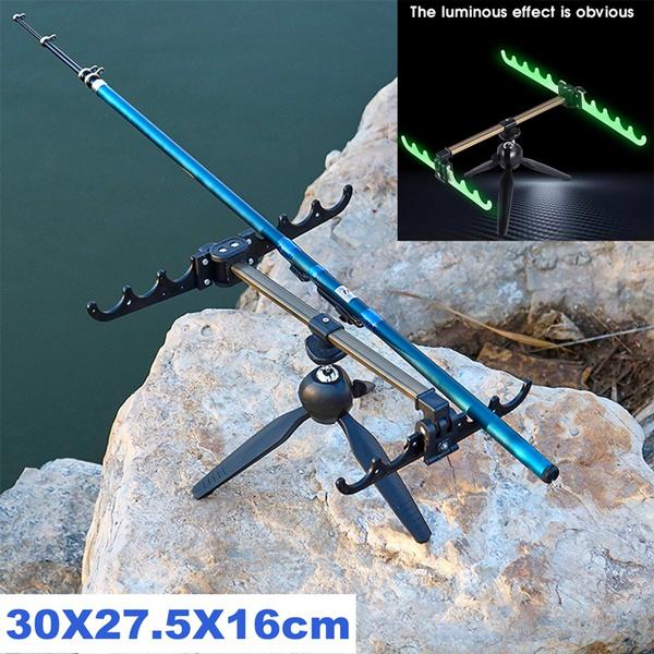 Steel, fishingrodholder, fishingpolestand, adjustablefishingtripod
