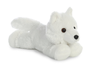 Toy, Wolf, Animal, white