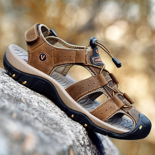 casual shoes, Plus Size, Hiking, leather