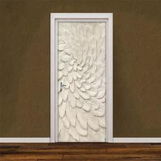 decoration, doorstciker, Door, Home Decor
