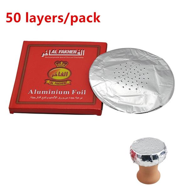 hookah, tobacco, aluminiumfoil, shisha