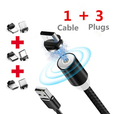multiportcharger, usb, Cable, 360rotation