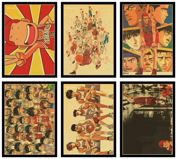 slamdunkposter, posters & prints, vintageposter, Home Decor