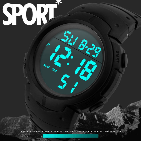 Fashion, rubberbandwatch, Waterproof Watch, Waterproof