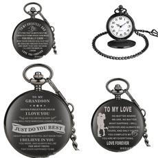 Antique, quartz, Chain, Watch