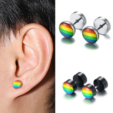 Steel, rainbow, Jewelry, Gifts