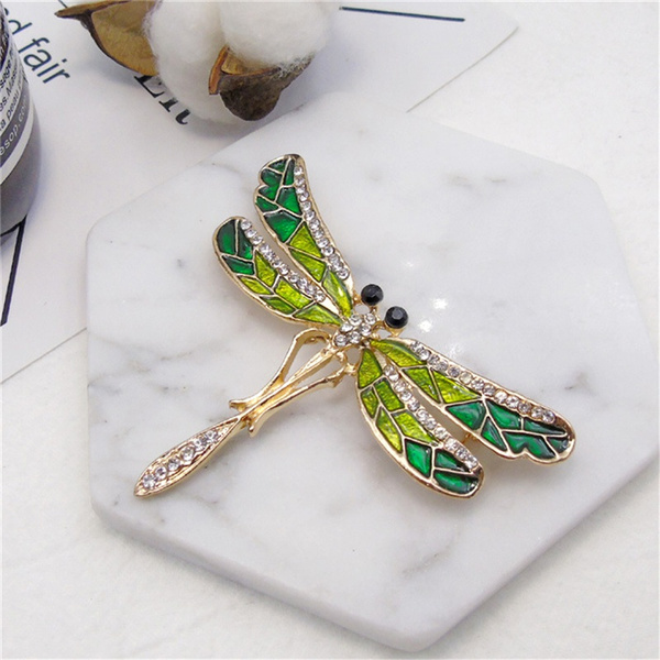 Beautiful, dragon fly, womenbrooche, Fashion