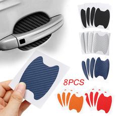 Fiber, Door, carssticker, Auto Accessories