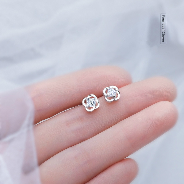 Sterling, Clover, Fashion, Jewelry