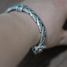 viking, vikingbracelet, bracelets for women, Men Cufflinks