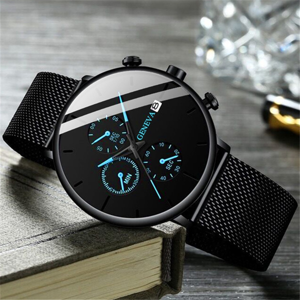 meshstrapwatch, Men Business Watch, Jewelry, Gifts