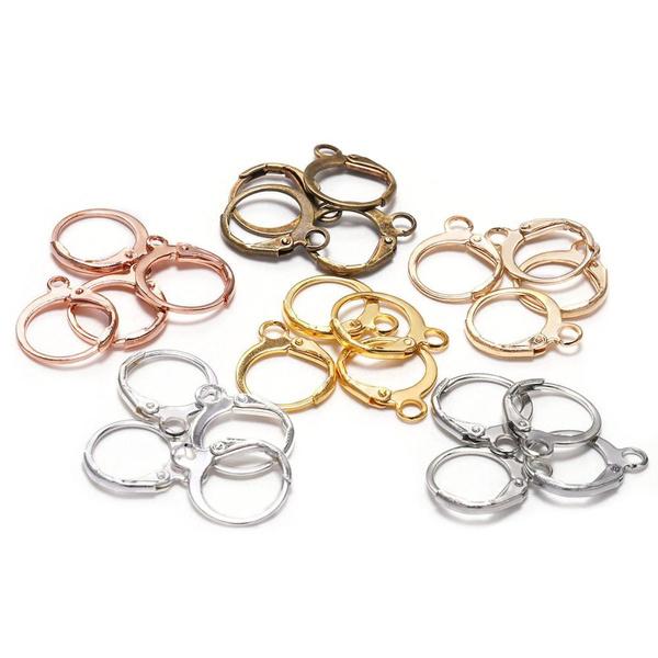Earring, Jewelry, gold, Earring Findings