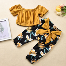 Summer, Baby Girl, Shorts, crop top