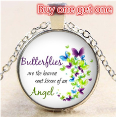 Chain Necklace, Butterflies, Gifts, Chain