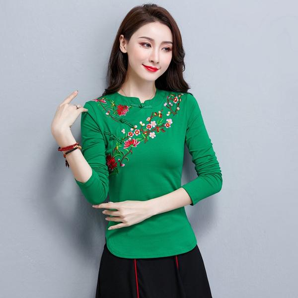 blouse, Fashion, Shirt, Chinese