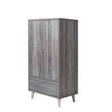 armoire, Grey, Bedroom Furniture