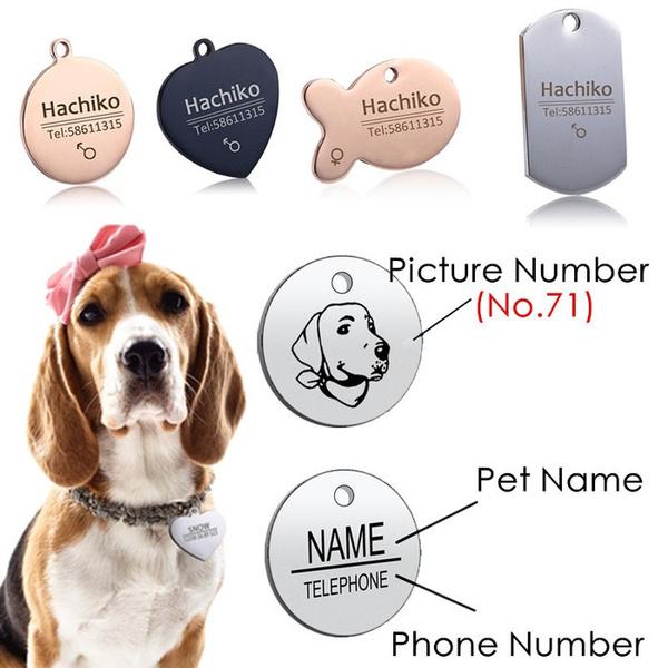 Steel, decoration, phonetag, nameplate