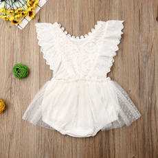 newbornclothing, Summer, laceromper, Lace