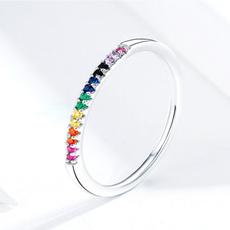 Fashion, zirconring, Simple, fashion ring