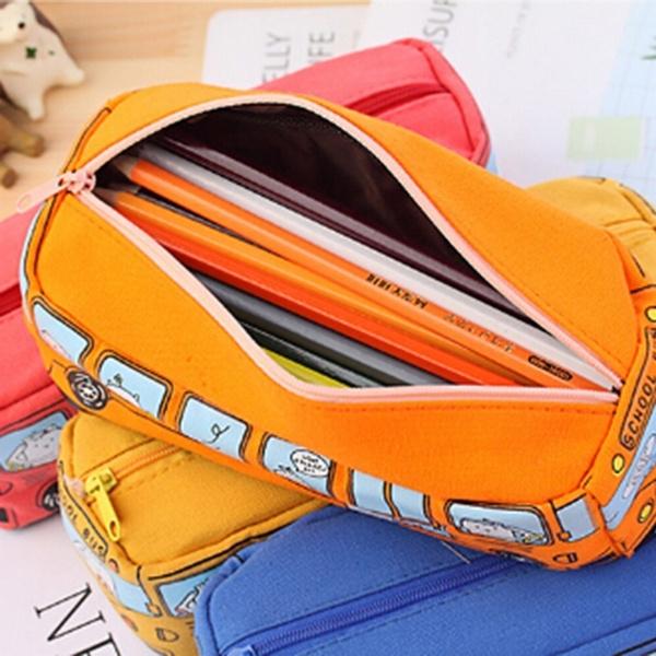 case, pencil, pencilbag, School