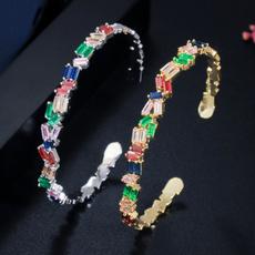 Fashion, Jewelry, Simple, colorgembracelet