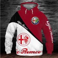 3D hoodies, alfaromeo, coolhoodiesformen, pullover hoodie