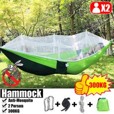 Outdoor, doublehammock, camping, swingbed