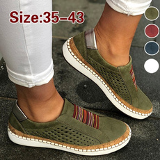 loafersforwomen, casual shoes, Sneakers, Plus Size