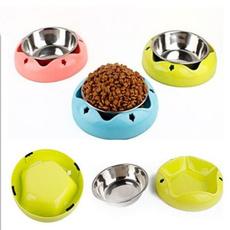 Steel, Stainless Steel, pet bowl, petfeeder