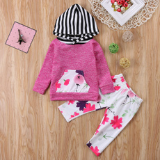 Leggings, babygirlsclothe, Shirt, floralpant