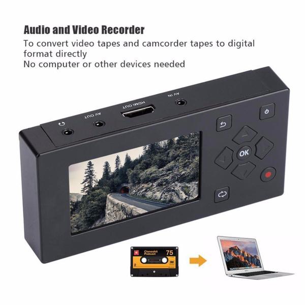avrecorder, audioconverter, videoconverter, camcordertapeconverter