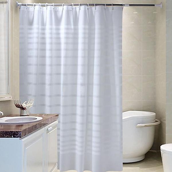 Plastic, dustcurtain, Bathroom, drape