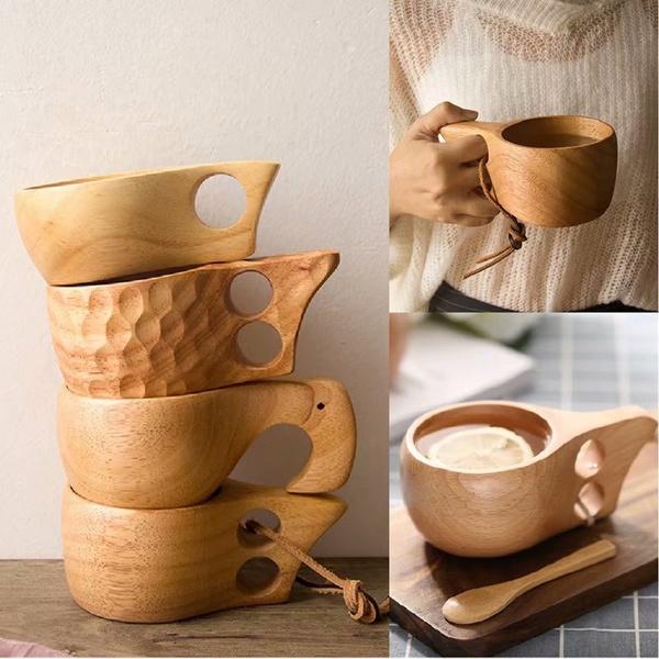 woodencoffeecup, handmadegift, Milk, campingcup