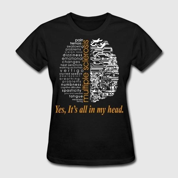 Head, Plus Size, Cotton T Shirt, letter print