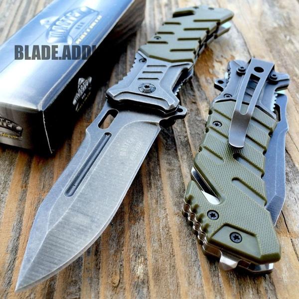 Pocket, Combat, Spring, militaryknife