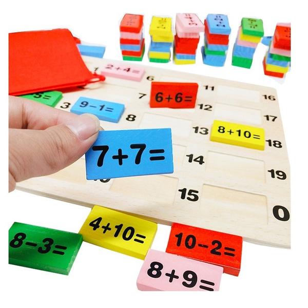 Toy, Wooden, domino, parentchildinteraction