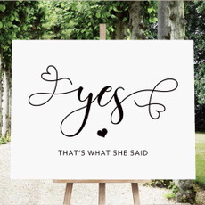 Shower, engagementannouncementsign, Decor, bridalshoweridea
