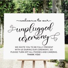 weddingsign, unpluggedweddingsign, rusticweddingsign, Wedding