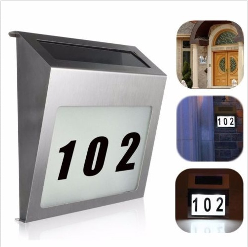 Plates, digit, Door, addressplaque