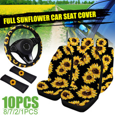 carseatcover, Flowers, Sunflowers, carcover