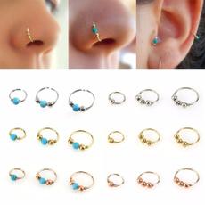 Turquoise, nostrilhoop, Jewelry, Stud Earring