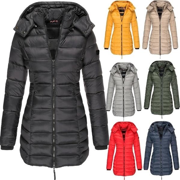 Fashion, Winter, pufferjacket, Long Coat