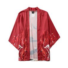 lapel, Plus Size, Shirt, chinesecharacter