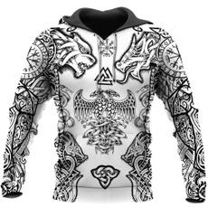 Beautiful, 3D hoodies, Fashion, hooded