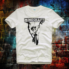 mineshaft, Fashion, men's cotton T-shirt, Graphic T-Shirt