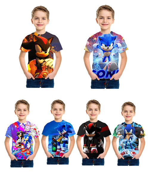 sonic, Fashion, tshirtforchildren, Shirt
