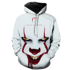 stephenking, Fashion, 3D hoodies, unisex