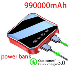Mini, Battery Pack, Mobile Power Bank, Battery Charger